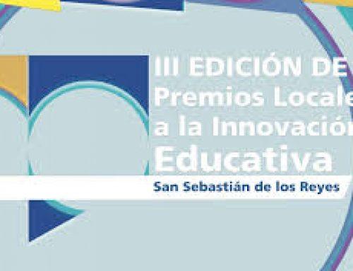 III Edición de los Premios Locales a la Innovación Educativa (San Sebastian de los Reyes)
