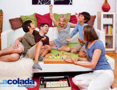 ¿Qué  hacer con los niños en casa ?